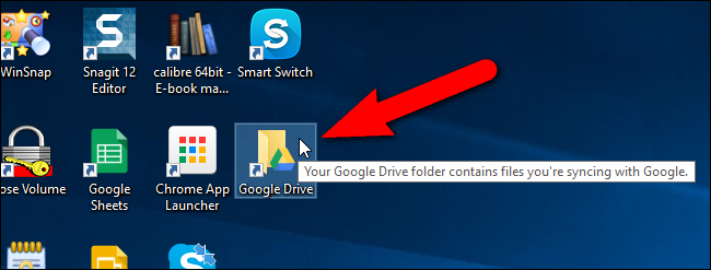 how to sync google drive app