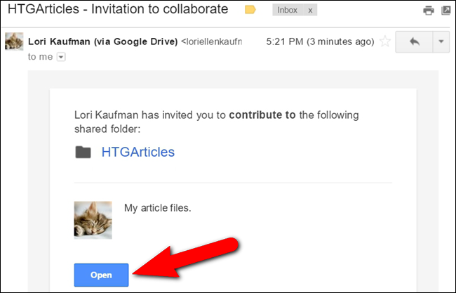 how to send a file with google drive