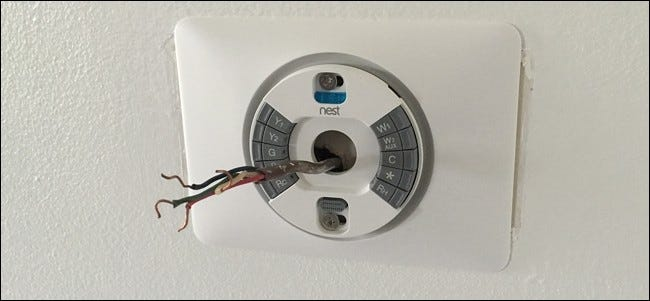 how to install and set up the nest thermostat. Black Bedroom Furniture Sets. Home Design Ideas