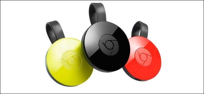 The Google Chromecast icon.