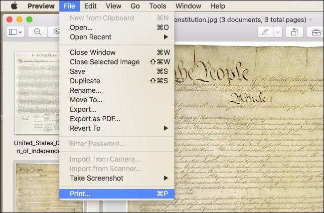 how to put multiple pdfs into one document mac