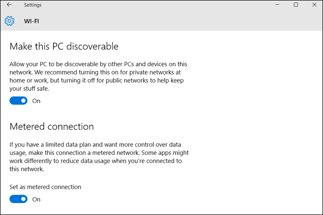 windows 10 wifi connect automatically disable