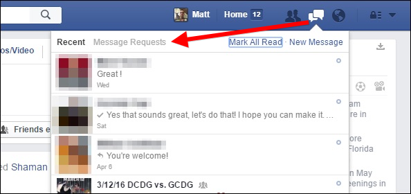 """Facebook Now Has Two """"Hidden"""" Message Inboxes, Here's How to Access Them ilicomm Technology Solutions"""