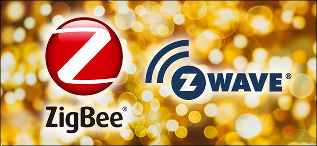 The ZigBee and Z-Wave logos.