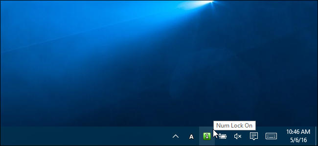How to Get a Taskbar Notification When Caps Lock or Num Lock Are Enabled