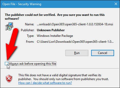 "How to Unblock a File from Windows' ""Publisher Could Not Be Verified"