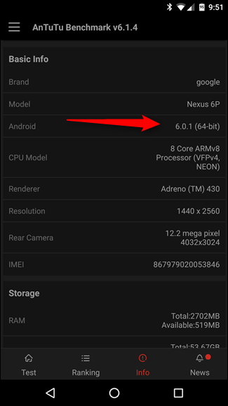 How to Find Out If Your Device Is Running 32-Bit or 64-Bit Android