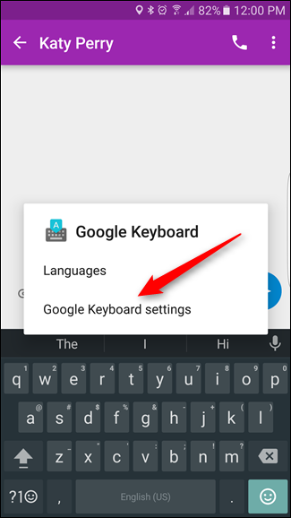 How to Disable Android's Swype-Like Gesture Typing