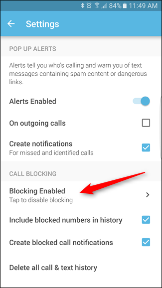 Screenshot 20160516 114926 1 - How to block a number on Tecno android phone
