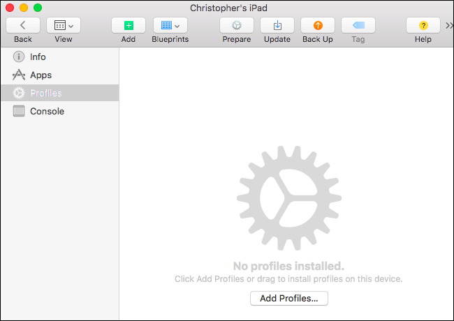 How to Create an iOS Configuration Profile and Alter Hidden Settings