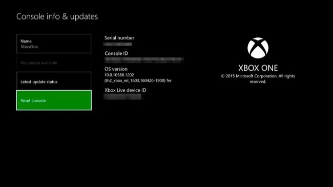 How to Factory Reset Your Xbox One