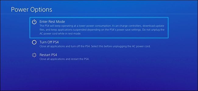 """Should You Use """"Rest Mode"""" on Your PlayStation 4, or Turn It Off?"""