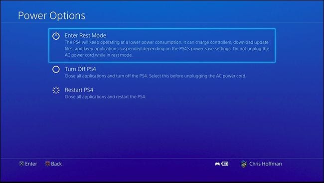 ps4 when downloading how keep is off to
