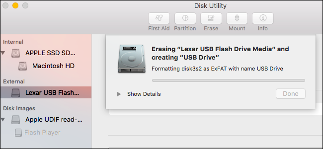 Method 1. Format FAT32 on Mac [Disk Utility]