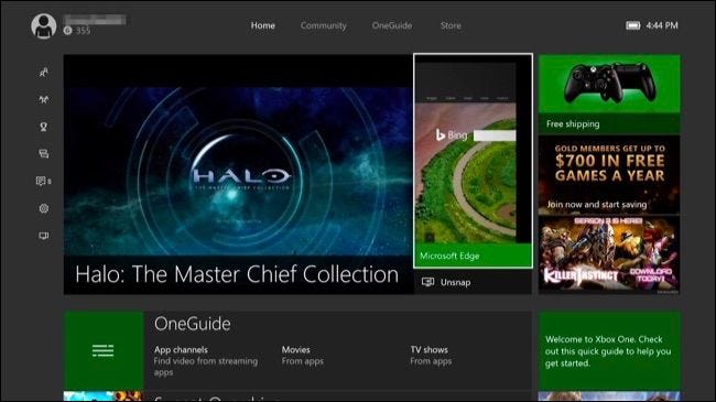 How to Snap Apps and Multitask on Your Xbox One