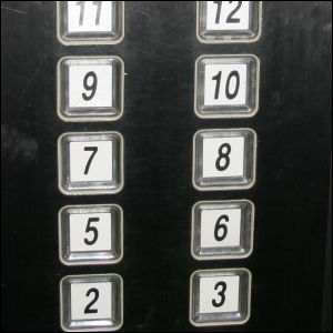 Just like many western buildings have no formal 13th floor for 13th floor superstition