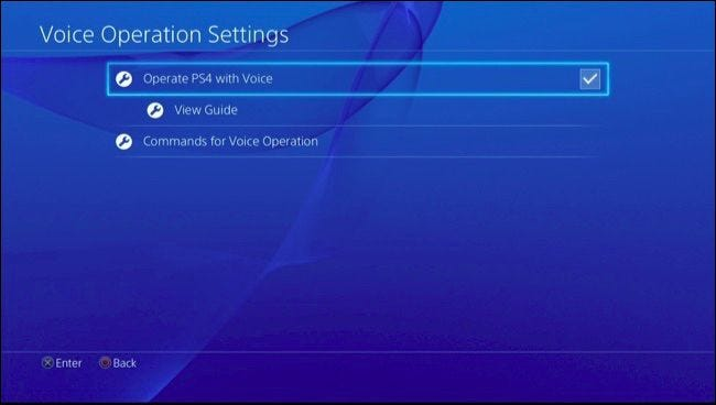30 Voice Commands You Can Use on Your PlayStation 4