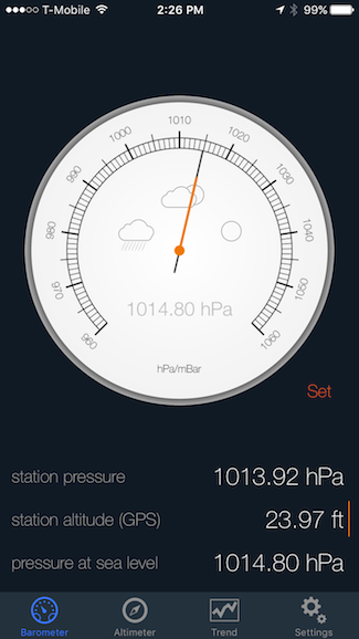 How to Use Your Phone as a Barometer or Altimeter