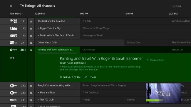 How To Watch Tv Through Your Xbox One Even Without Cable