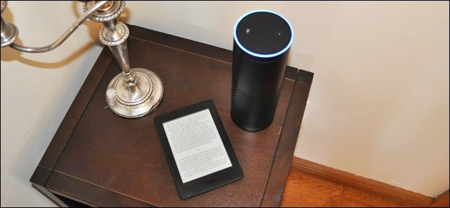 How to Make Your Amazon Echo Read Your Kindle Books Out Loud