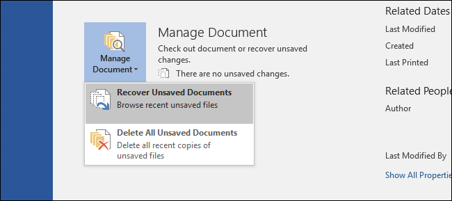 Anyway to retreive unsaved and accidentally deleted work?
