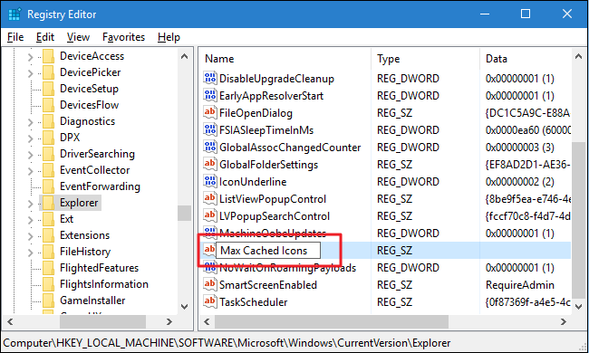 Fix Slow-Loading Windows Icons by Increasing the Icon Cache