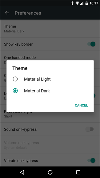 How to Change Google Keyboard's Theme on Android
