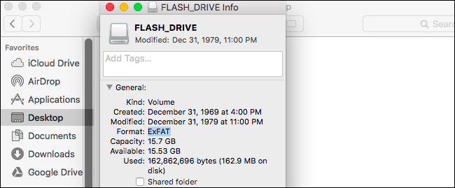 how to format usb to fat32 on macbook