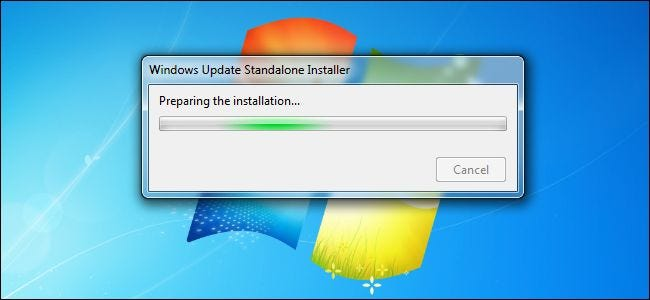 offline updates for windows 7