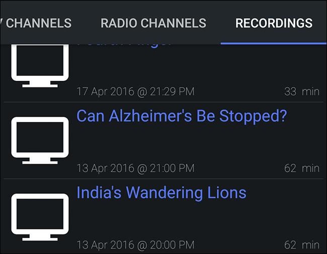 yatse-kodi-recorded-shows
