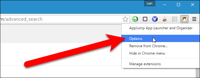 12_selecting_options_for_appjump