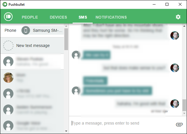 How to Send Text Messages From Your PC With Your Android Phone