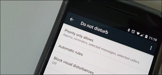 How to Set Automatic Quiet Times in Android with Do No Disturb
