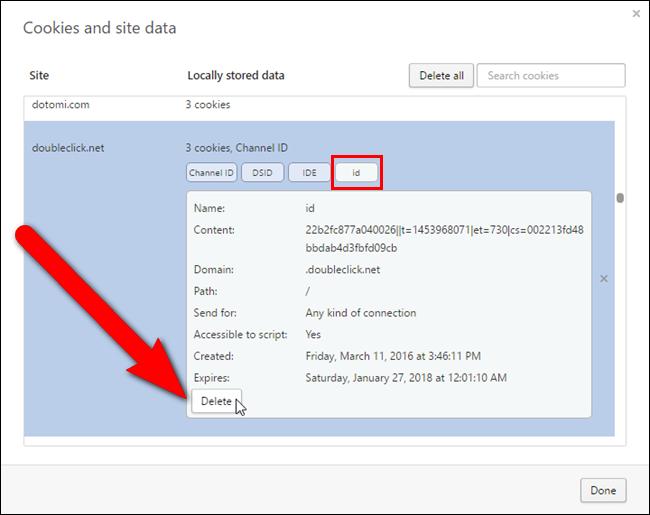 كيفية حذف ملفات تعريف الارتباط في متصفح الويب الأكثر شعبية على ويندوز Delete Cookies