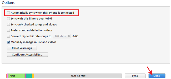 how to connect device to itunes