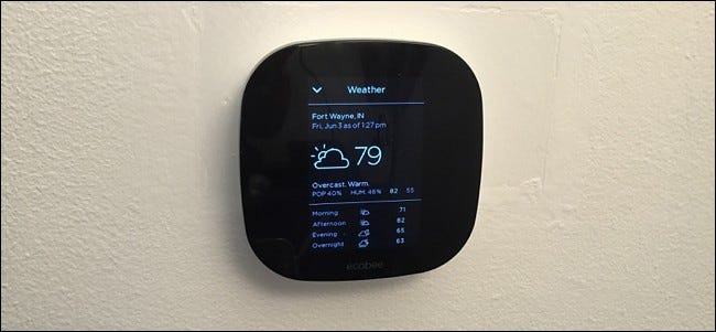 How to Set the Location for Your Ecobee to Get Weather Info