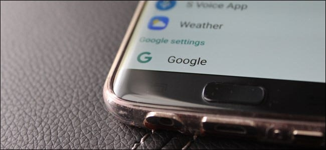 "How to Access the ""Google Settings"" App on the Samsung Galaxy S7"