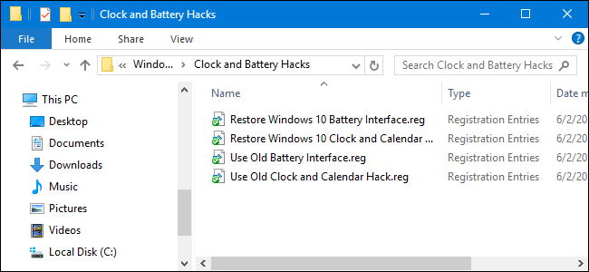 How to Restore the Old Clock, Calendar, and Battery on the