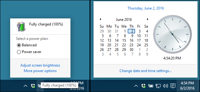 How to Restore the Old Clock, Calendar, and Battery on the Windows
