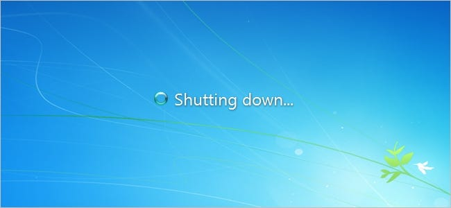 Does Shutting Down Windows from the Command Prompt Cause Damage?
