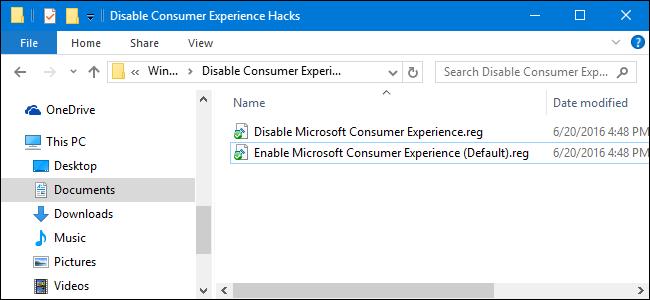 windows 10 registry hacks 2017