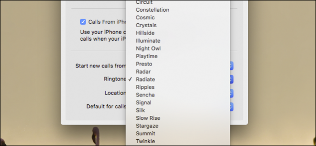 How to Change Message and Call Ringtones on OS X