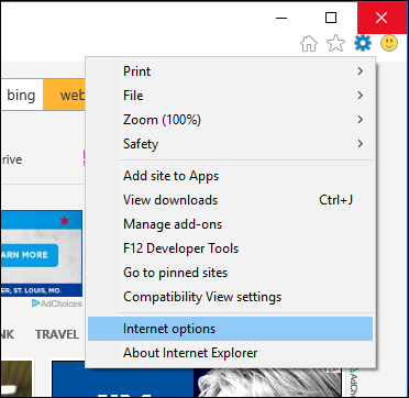 How to Clear Your Internet Explorer Browsing History
