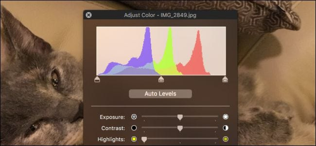 How to Make Quick Color Corrections to Photos with Preview