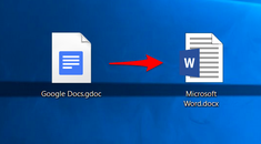 How to Convert a Google Docs Document to Microsoft Office Format