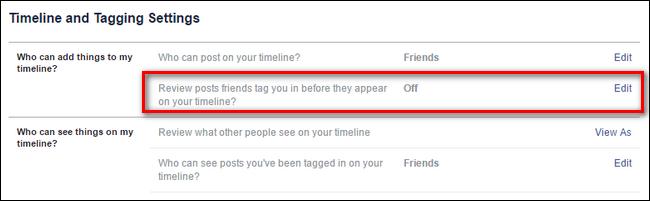 كيفية مراجعة واعتماد ما يظهر على الفيسبوك الخاص بك