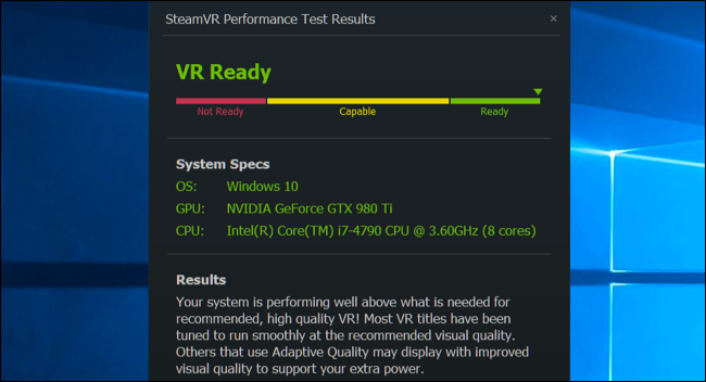 How to Check if Your PC Is Ready for the Oculus Rift or HTC Vive