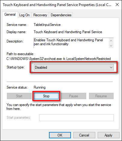 How to Permanently Disable The Touch Keyboard In Windows 8 and 10