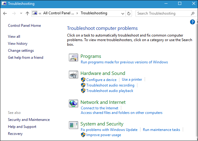 audio troubleshooter windows 10 not working