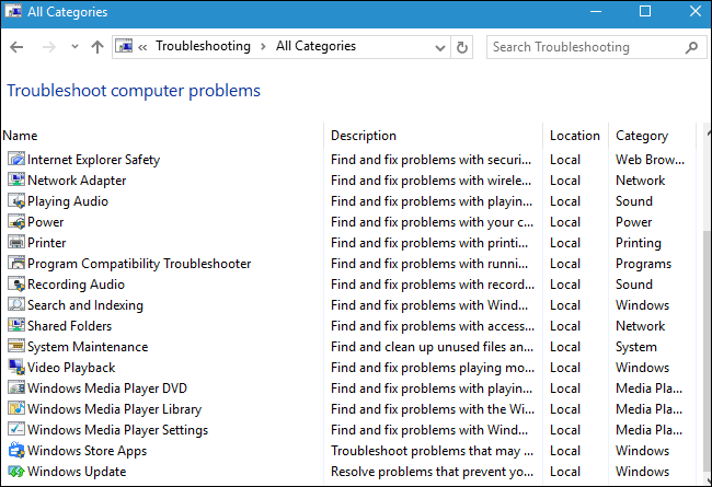 How to Make Windows Troubleshoot Your PC's Problems for You